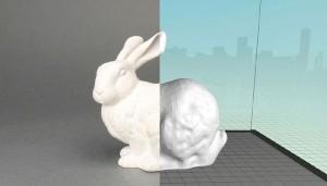 3D objeto real